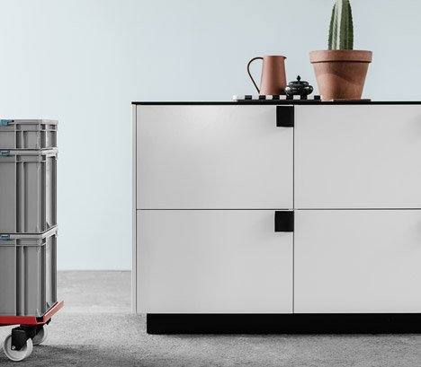 Reform Ikea kitchen hack by BIG via Dezeen