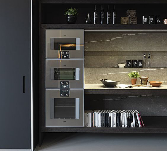 Go for the best appliances you can afford, these beauties are from Gaggenau, if your budget can handle it!