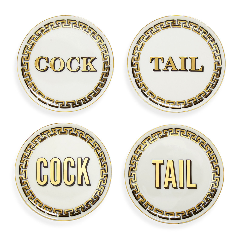 Jonathan Adler Cock Tail Coasters