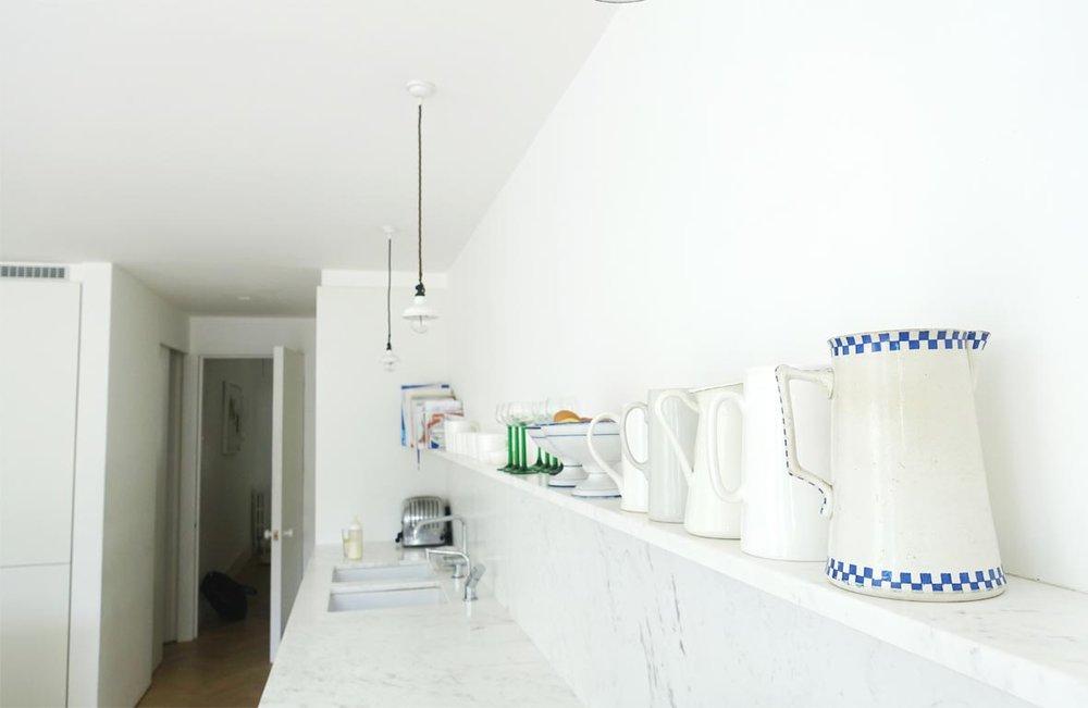 White Marble shelf tashsouth.com