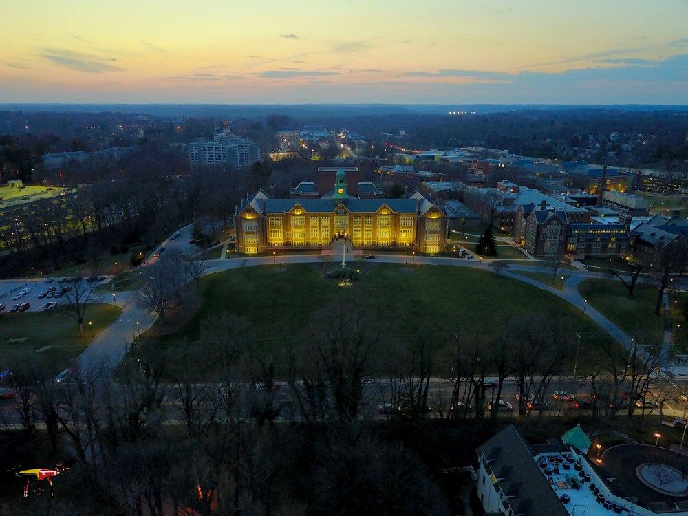 towson university baltimore aerials