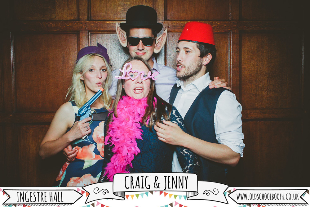 retro photo booth