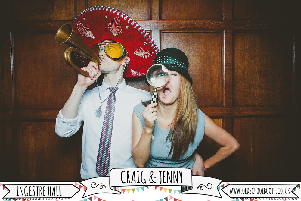 shabby chic photo booth