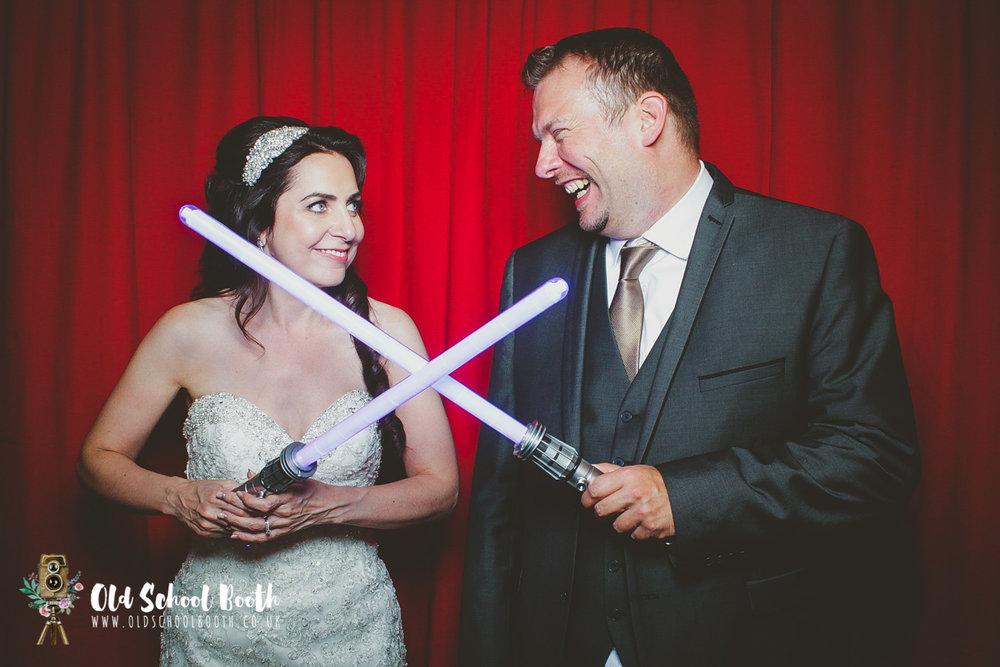 hazelwood castle wedding photobooth