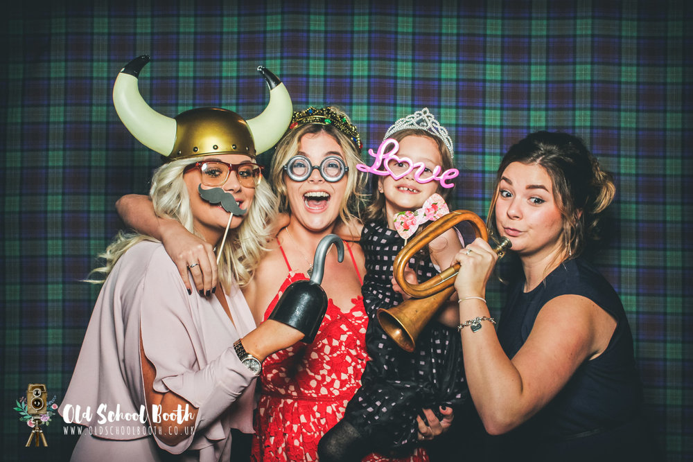 tartan photo booth