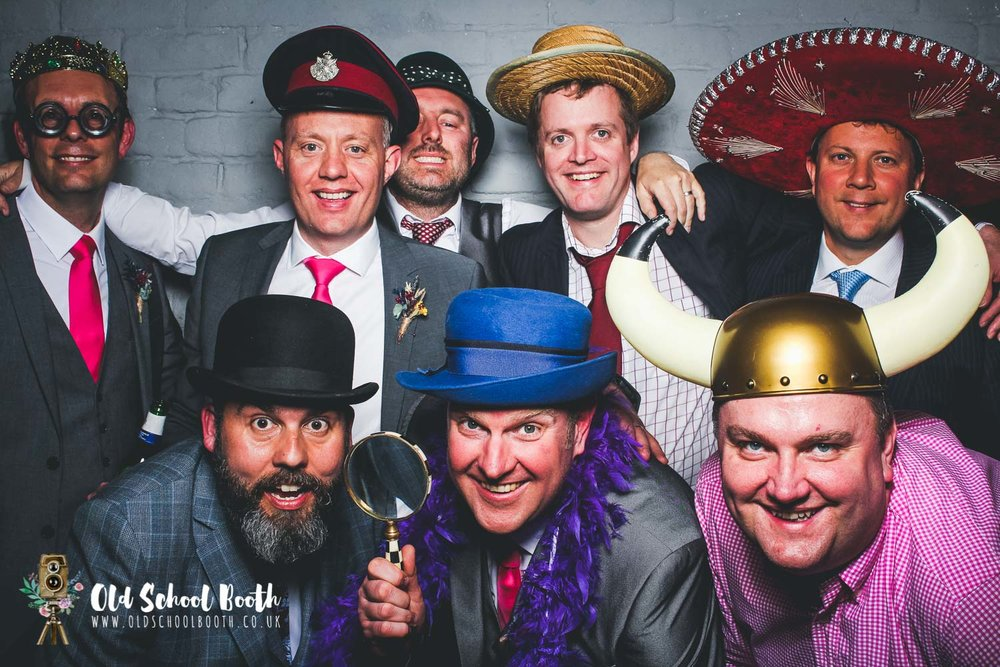 groomsmen photo booth