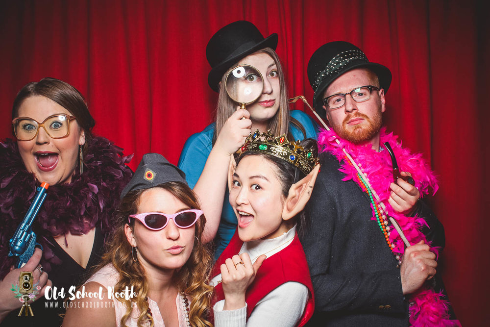 vintage photo booth derbyshire