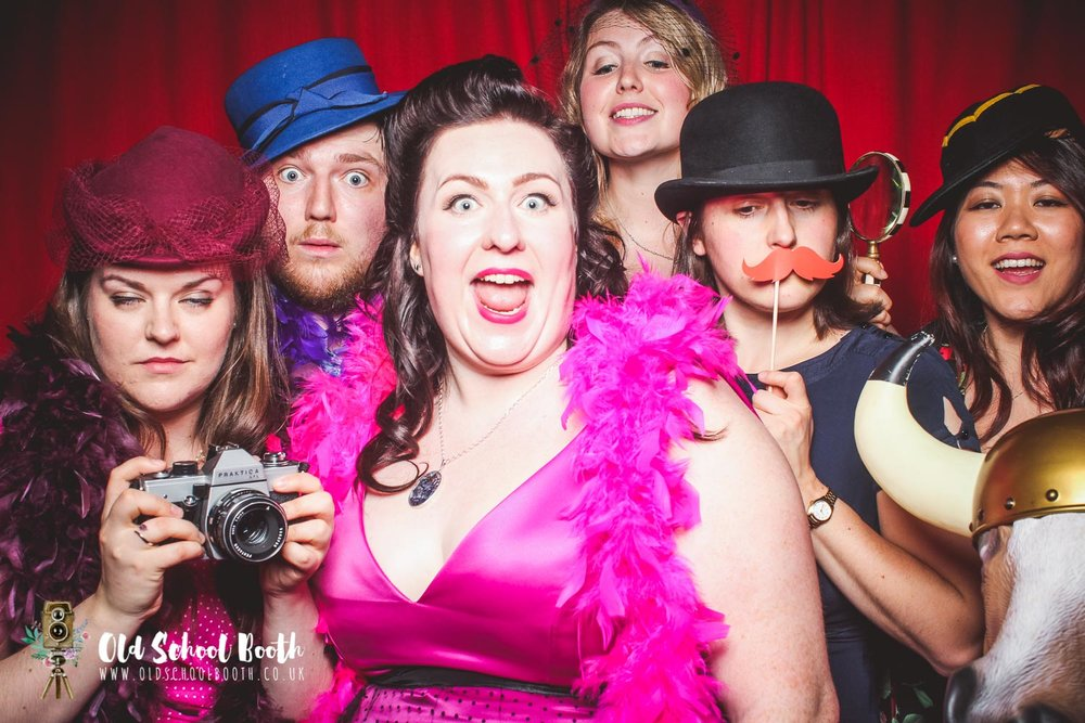 photo booth fun derbyshire