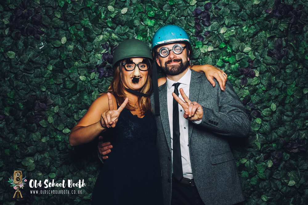 vintage photo booth wedding