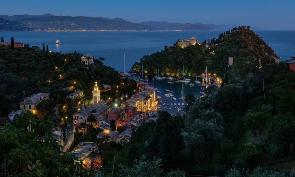 The View of Portofino from Villa Piazzetta, Portofino