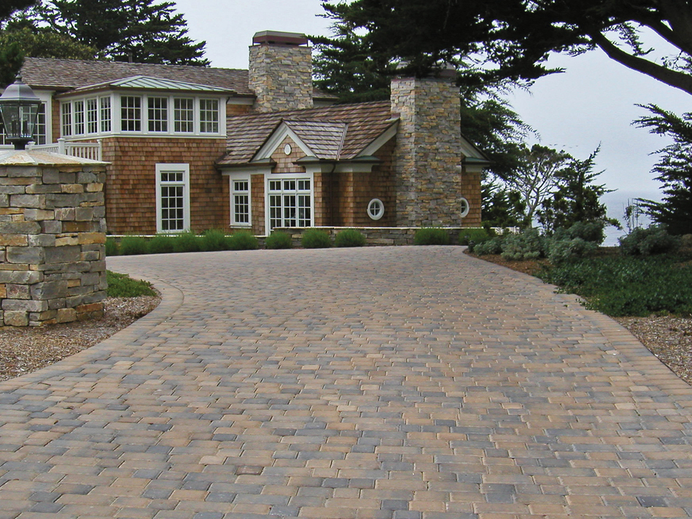 Brown Driveway Pavers : Calstone classic cobble paver — south county rockery