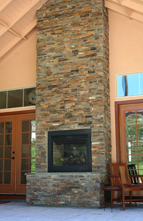 Natural stone veneer panels south county rockery - How to install exterior stone veneer ...