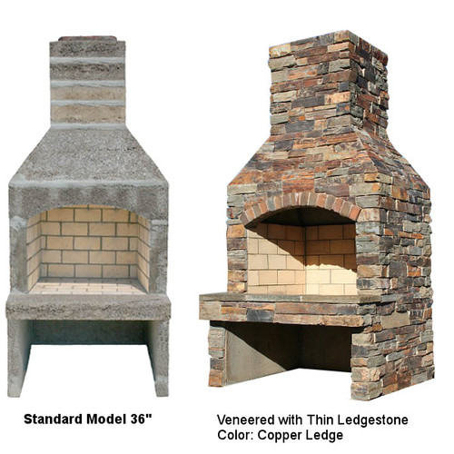 Outdoor Fireplace Kits — South County Rockery