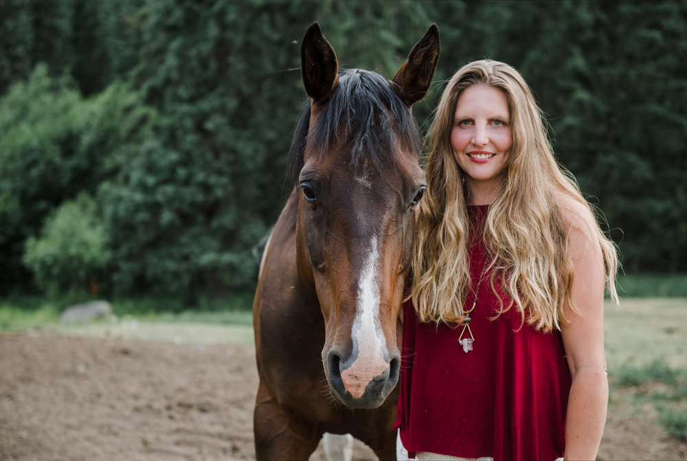 About your host: - Hillary Schneider is a coach, mentor, equine guided facilitator and retreat founder.  Her passion for her horses has been the catalyst for her success and is a space she is deeply passionate about empowering for those that are called to the partnership of horses. A life long horse woman, her background includes over 20 years in the horse industry accompanied with 12 years in the fiend of personal growth and leadership development which manifest in how she has worked with clients for the last 10 years. She currently owns and runs a 80 acre retreat facility, where she partners with her herd of 20 rescue horses, where she trains those called to this work, facilitates group and private retreats for her clients that travel all over the world to come and work with her, and mentors both equine facilitators and women entrepreneurs to empower their leadership through what they feel is their higher calling in life.