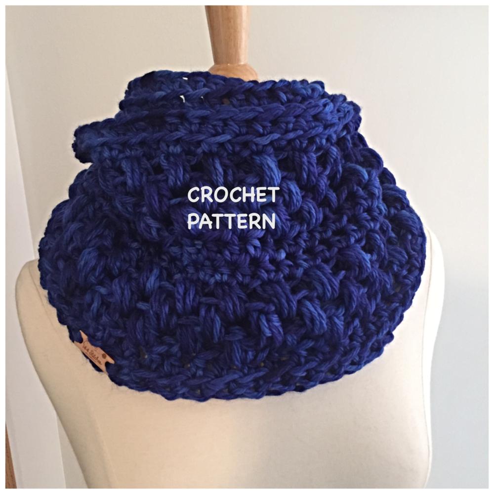 Roma puff stitch infinity scarf pattern 144 stitches - Diy fa r oma ...