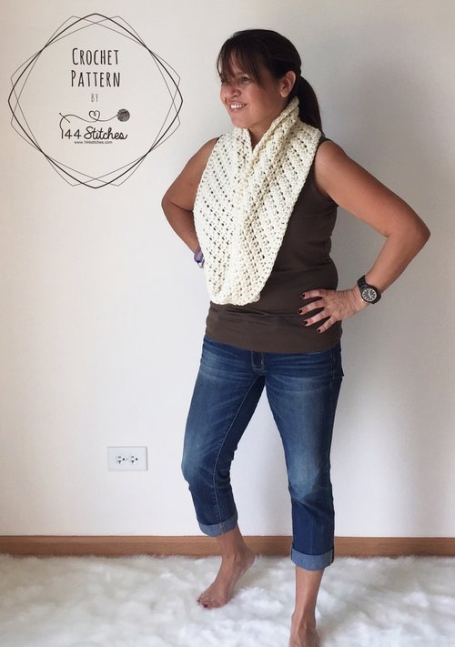 Crochet Scarf Patterns — 144 Stitches
