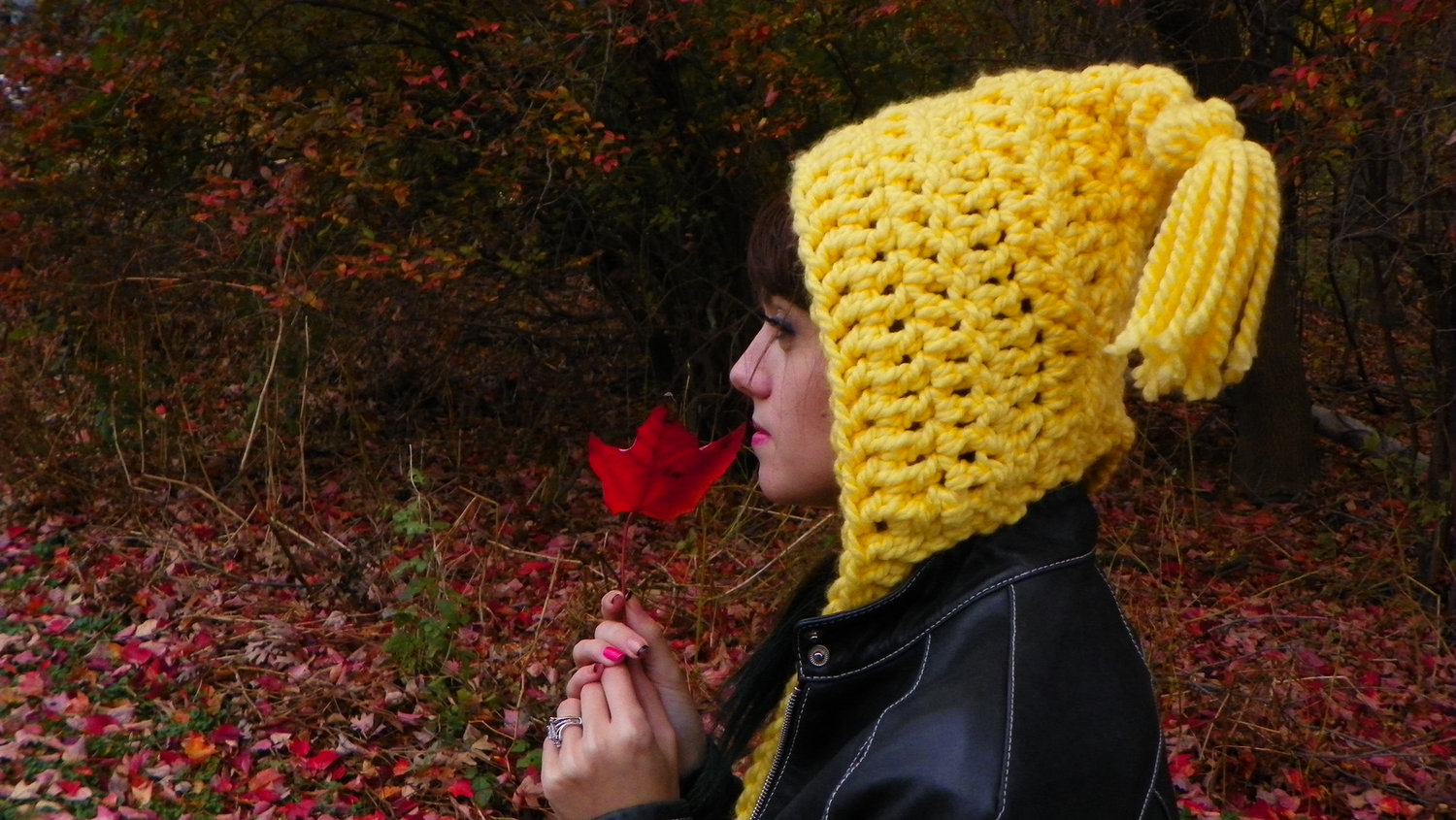 Whimsical Pixie Hat Pattern — 144 Stitches