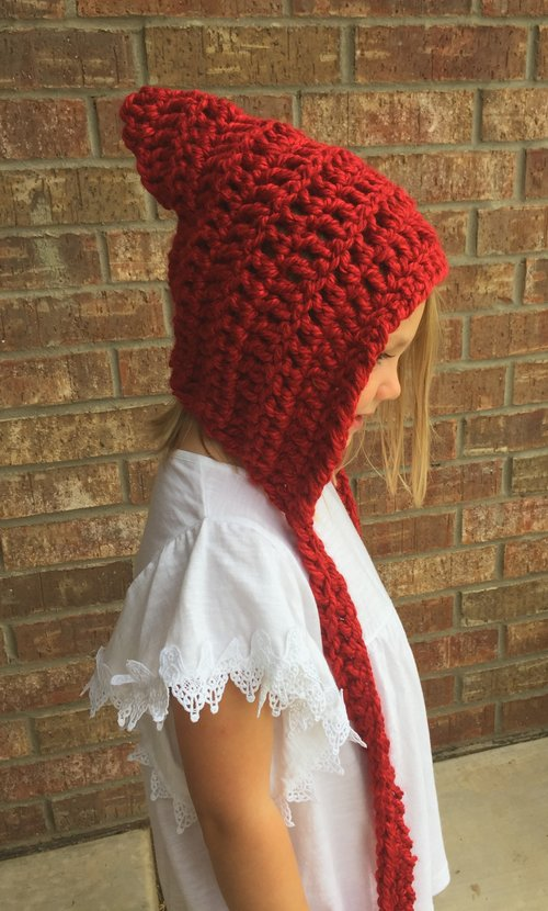 Whimsical Pixie Hat Pattern 144 Stitches