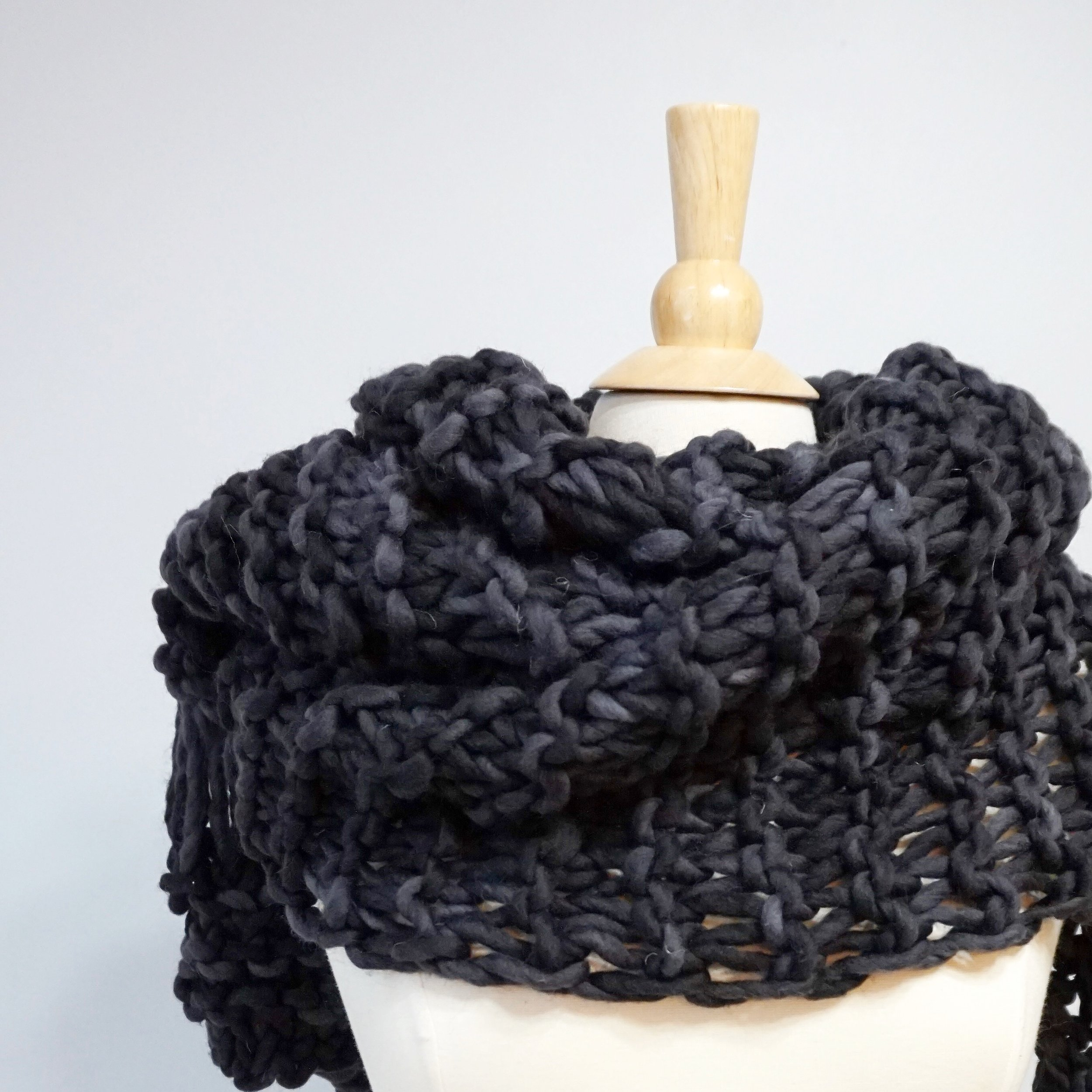 Tuckoe Scarf Knitting Pattern — 144 Stitches