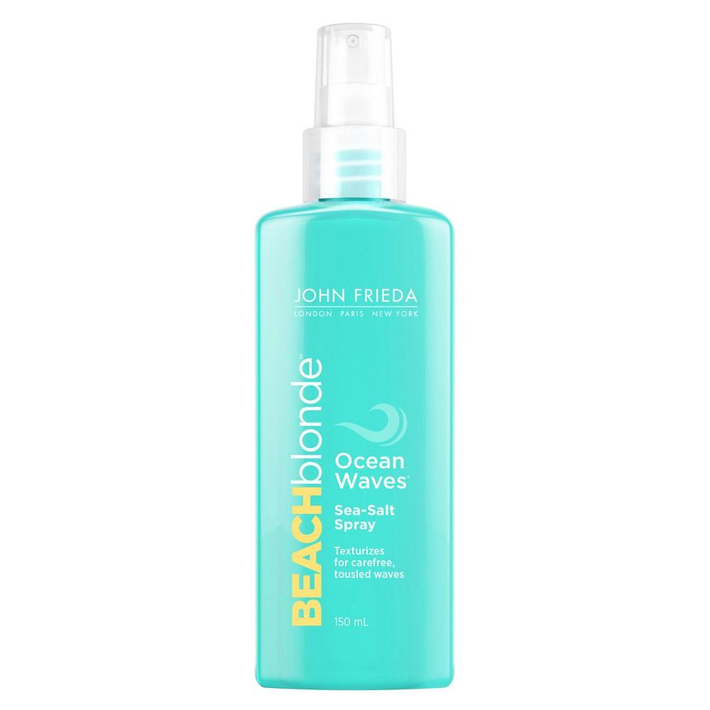 Back by popular demand, John Frieda's cult classic - Beach Blonde Ocean Waves Sea Salt Spray, £5.89.