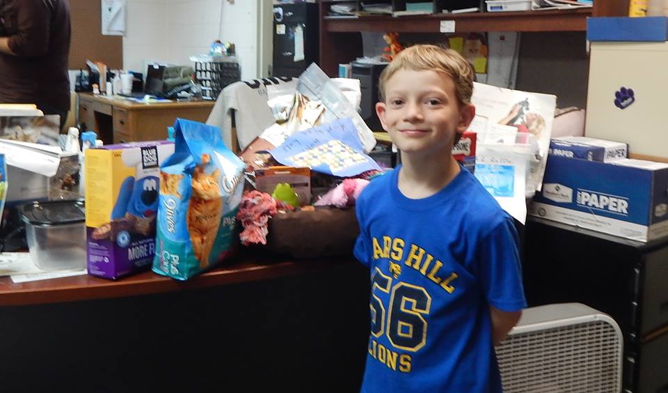 Theo Henry asked everyone he knew to make donations in his honor as a way to recognize his birthday instead of giving him gifts.  THANK YOU, Theo, for making your birthday happy for many!