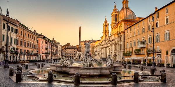 Piazza Navona - Rome, Italy