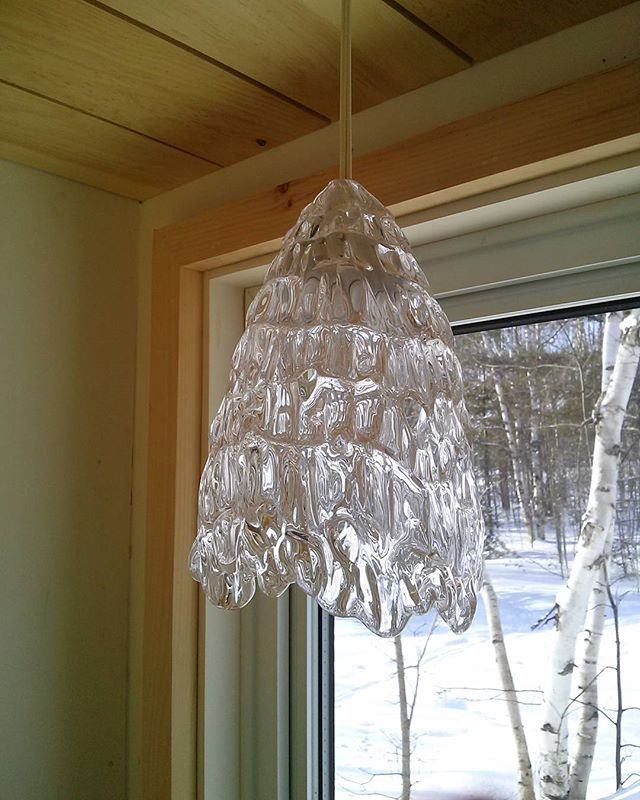 lacy light #glass #lights