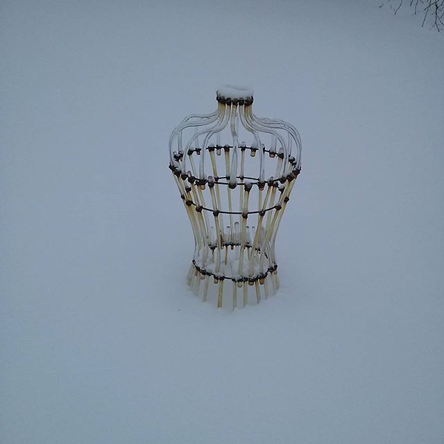 snow! #glass #dress
