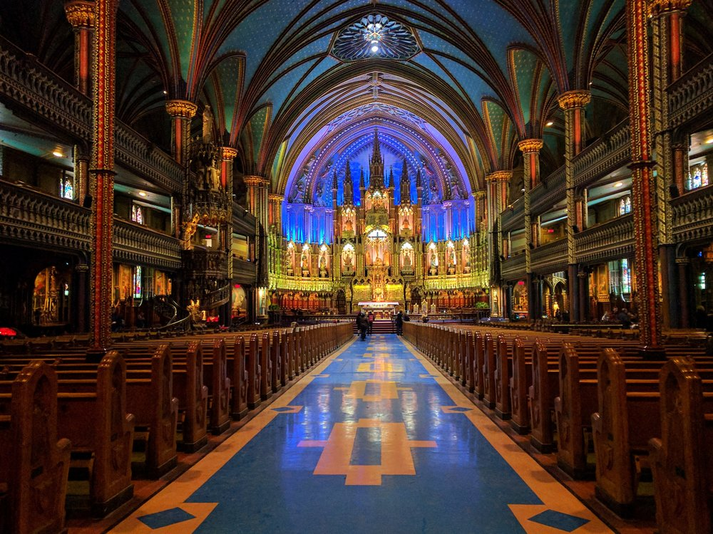 Notre Dame Basilica, Photo by Britnae Purdy