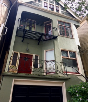 Janis Joplin's house! - Although she lived in other parts of the City, Janis initially lived here when she first moved to SF. Off of Lyon Street, her former abode now serves as private residences.