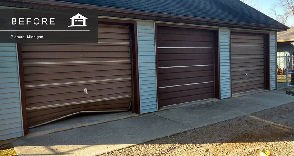 Pierson Michigan Garage Door Service Installation and Repair & Worth Garage Door Service Michigan