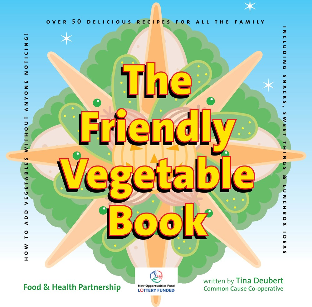 The Friendly Vegetable by Tina Deubert graphic