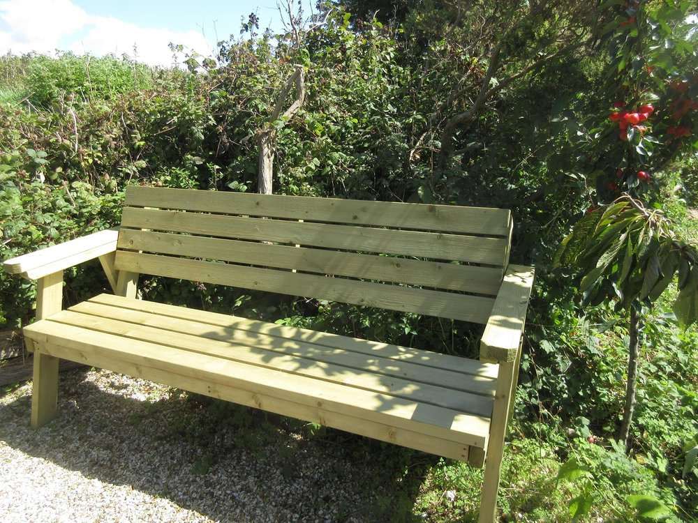 Wonderful new bench
