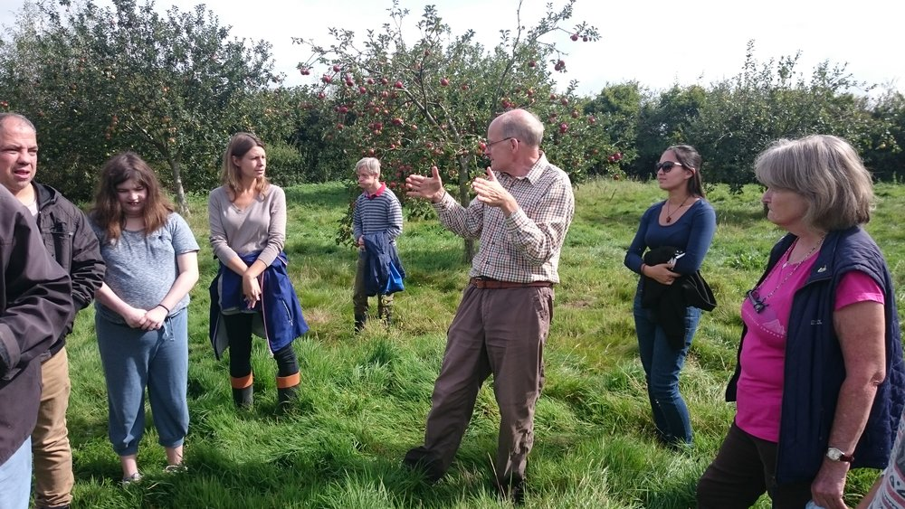 Peter talks about the Orchard