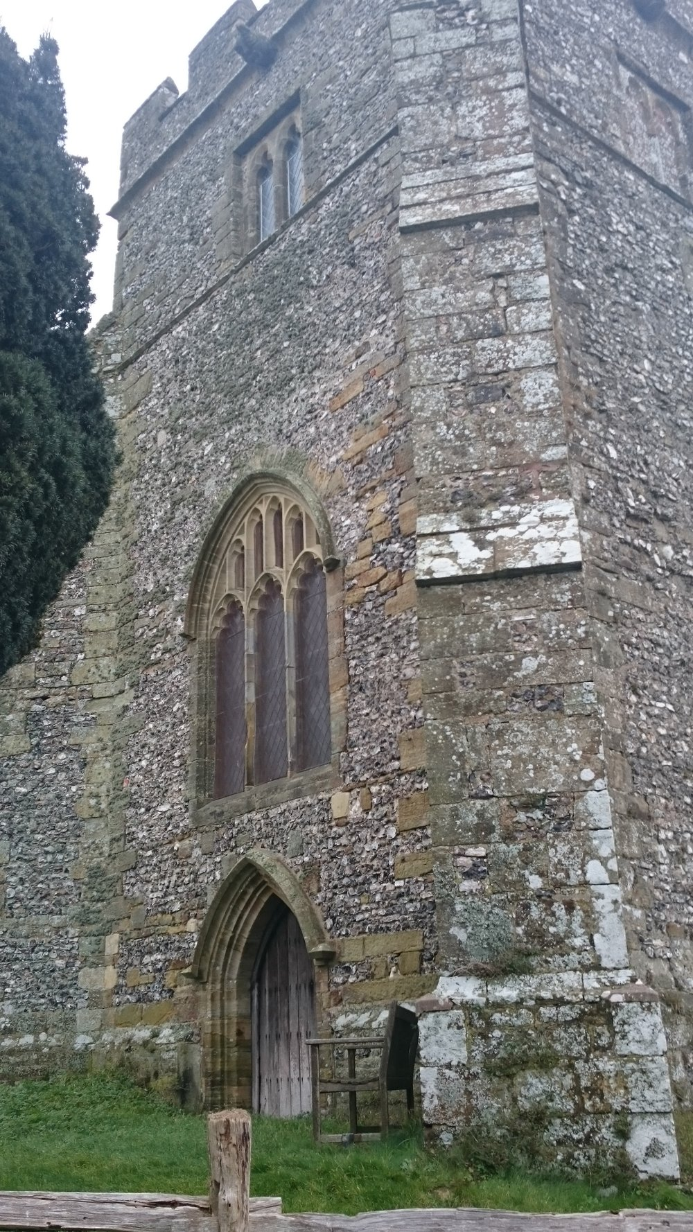 Tower, Hamsey church