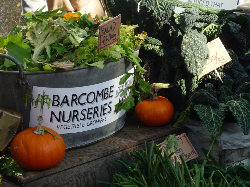 Barcombe Nurseries at Lewes Farmers Market