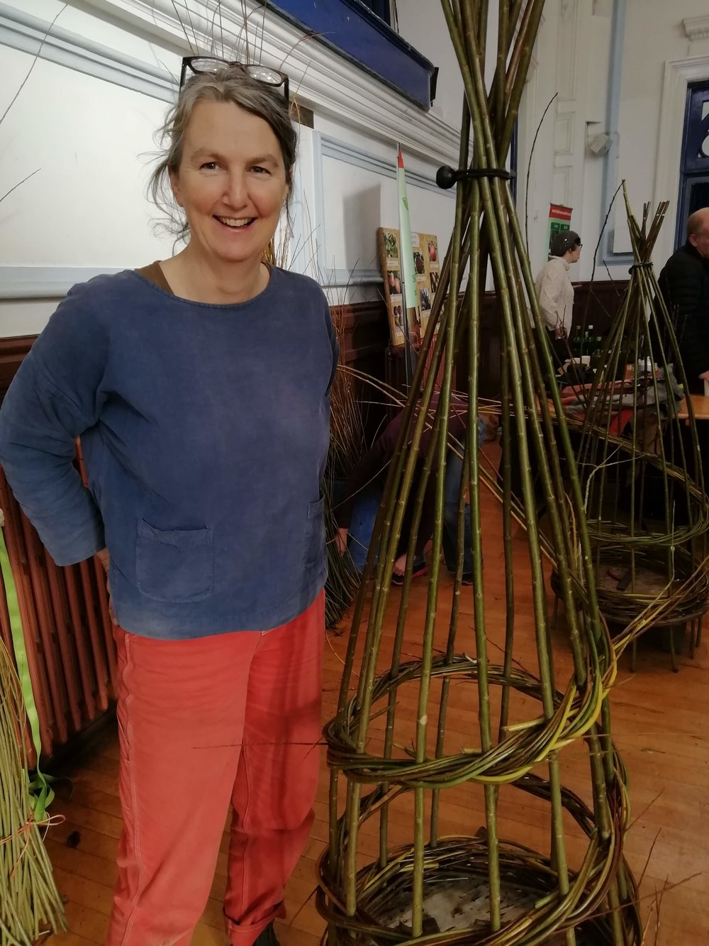 Willow Weaving with Annemarie O'Sullivan