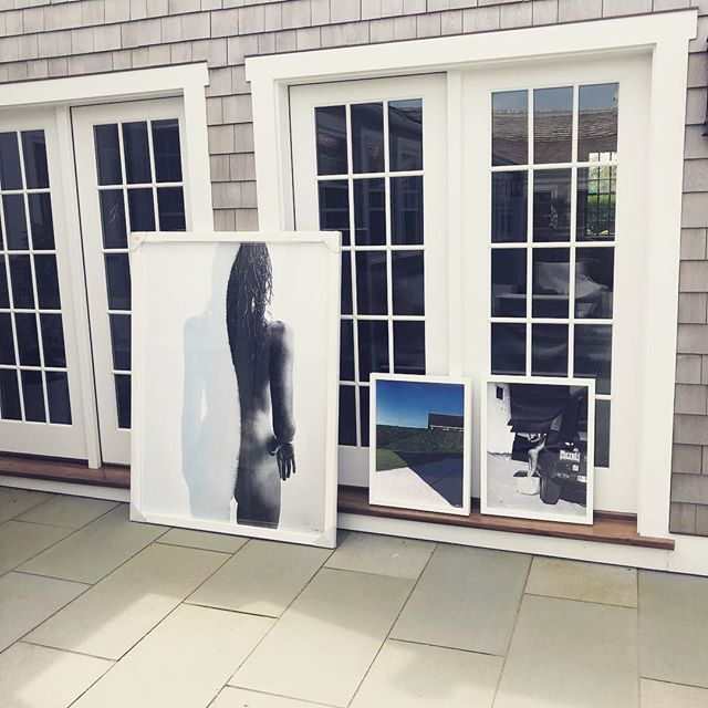 Install of 3 limited edition works to a new client. It's always such a treat and very humbling to hang work in someone's beautiful home. Thank you 🙏 . . . . Driving Me Daisy 1/1  Old Whaler 1/3 Beach Day 4/10 #nathancoe #largeformatphotography #kaganandcoe #nantucketart