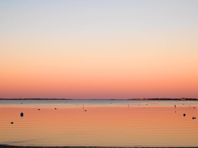"Nantucket Delight . . . . Newest 2018 collection.  Edition 2/3 in the largest 56"" by 42"" edition. Taken just after sunset in the Nantucket harbor facing North East. #nantucketart #nathancoe #uniquephotography #limitededitionphotography  #nantucketsunset #tlpicks #clpicks #oceansunset"