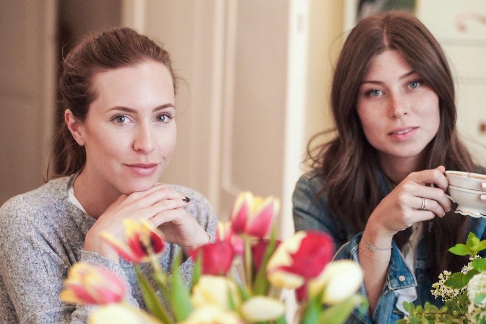Kathi und Vicky zu Besuch im Hause »WE ARE VIENNA«.