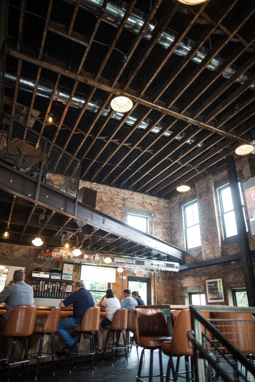 The bar at Hi-Mark