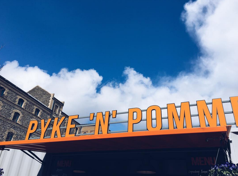 "Pyke 'N"" Pommes - Sustainable & organic street food in Derry!"