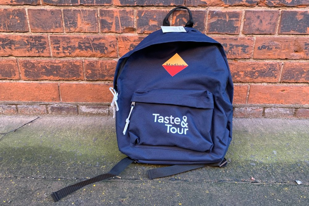 Our class new Madlug bags!