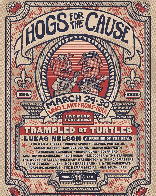 Lookin forward to some time spent in Nola @hogsforthecause. See y'all there