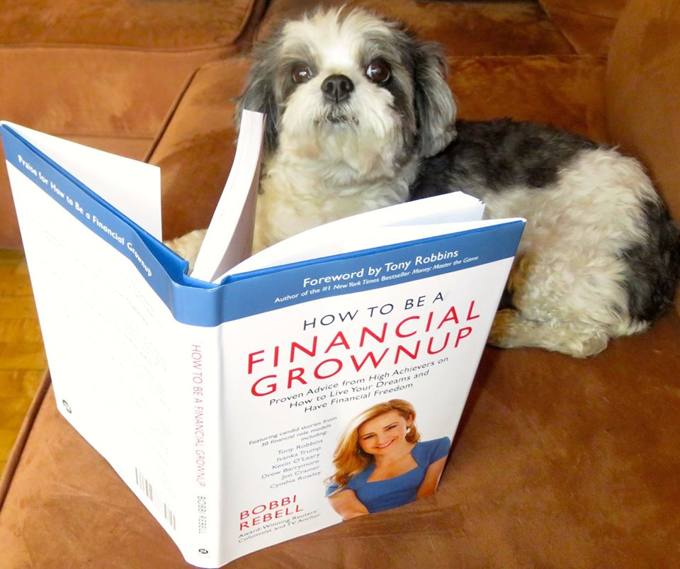 Even Wendy's dog Baby Hope wants to be a financial grownup!