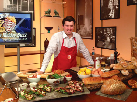 Chef Vincent Colombet featured on WGN TV Midday News