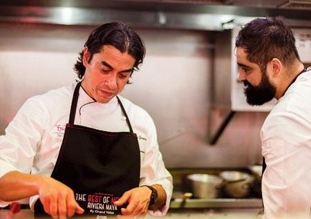 Chefs Carlos Gaytan and Francisco 'Paco' Ruano