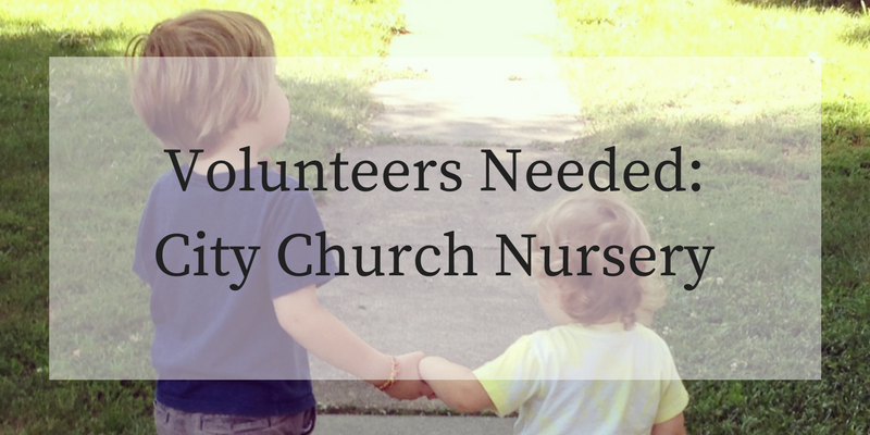 Volunteer inthe City Church Nursery.png