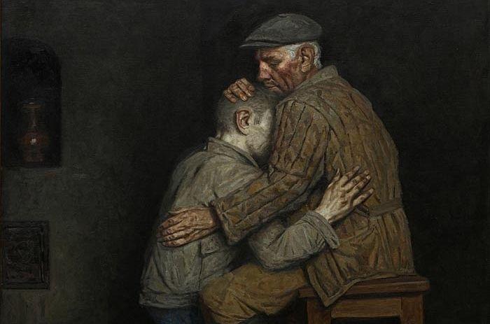 """""""The Prodigal Son"""" by Geliy Korzhev"""