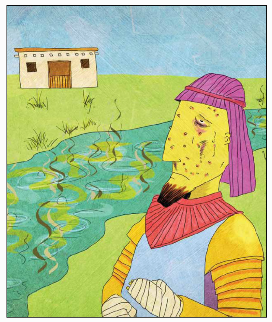 """Naaman"" by Yago ( The   Jesus Storybook Bible )"